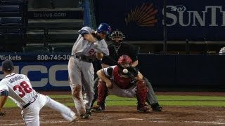 NYM@ATL: Duda fuels Mets offense with four base hits