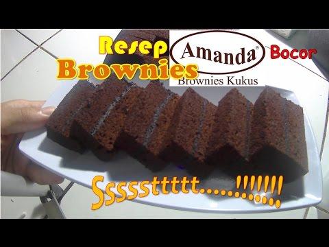 Ssstt.. Bocoran Resep Brownies Amanda # How to make Amanda Brownies