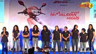 TVS Scooty Zest 110 Himalayan Highs Season 2