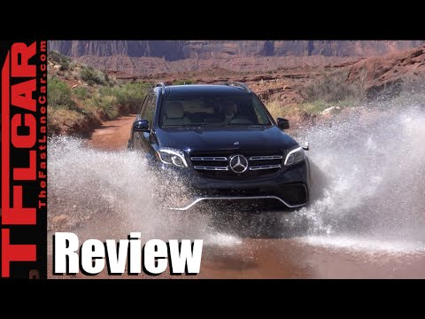 2017 Mercedes-Benz GLS On & Off-Road Review: We Drive the Monster AMG 63
