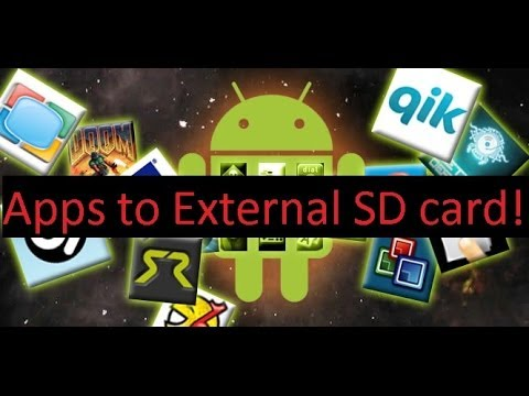 How to move Applications to external SD card