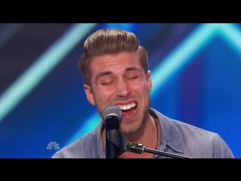 """America's Got Talent S09E03 Justin Rhodes Sings """"Wake Me Up"""" by Avicii"""