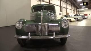 1940 Studebaker Champion - Louisville Showroom - Stock # 1404