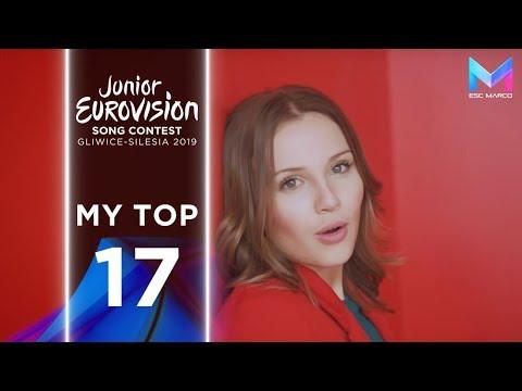 Junior Eurovision 2019 - MY TOP 17 (so far) | +