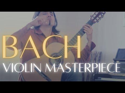 Violin Masterpiece on Guitar/Allegro Assai(J.S.Bach) by Robbin Blanco