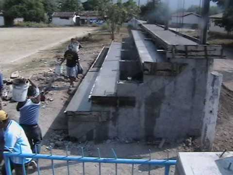 Construcci n gradas youtube for Gradas de concreto