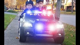 Power Wheels Police Ice Cream Man and Mall Chase Kids Vehicles
