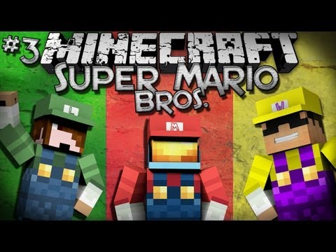Minecraft: Super Mario Bros. w/ SkyDoesMinecraft & Deadlox - Part 3!