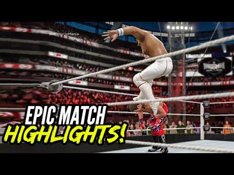 WWE 2K16 - Shawn Michaels vs. Seth Rollins | Epic...