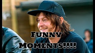 My Favourite - (Funny) Norman Reedus Moments!!! :D XD