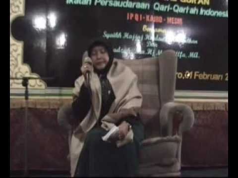 Dra. Hj. Maria Ulfa, Ma ( Haflah Ipqi 01 Feb 09 ) 02 video