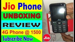 Jio Phone Unboxing || Features & Review in Hindi ||