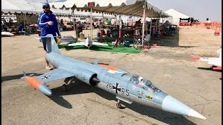 Giant RC F-104 Starfighter (Airworld) - Best in the West Jet Rally 2017