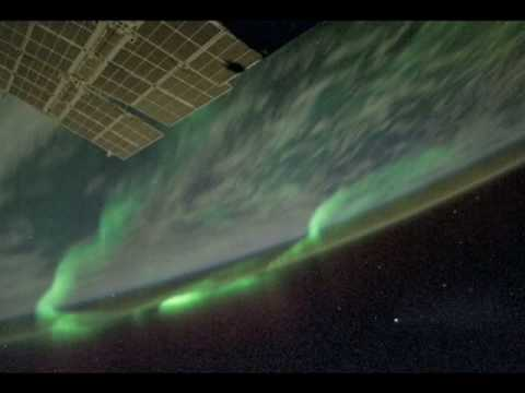 Animated Aurora Borealis, from Orbit Video