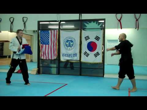 Taekwondo Advanced Sparring Techniques Vol 1 Image 1
