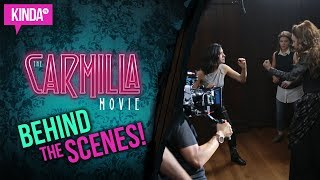 The Carmilla Movie - BEHIND THE SCENES!! | KindaTV