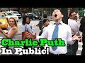 Charlie Puth - How Long - SINGING IN PUBLIC!!