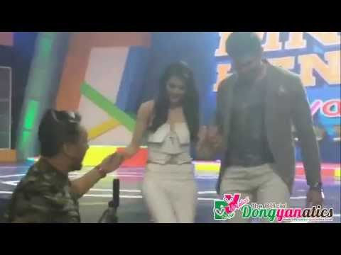 DongYan Behind The Scenes at Eat Bulaga - Part 1.