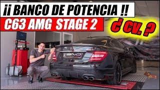 ¿ CUÁNTOS CABALLOS DARÁ EL MERCEDES C63 AMG CON REPRO ? | Supercars of Mike