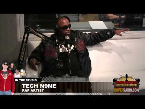 Tech N9ne - Complete Interview on Rover's Morning Glory