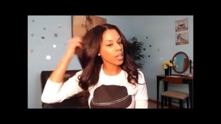 RPGShow Kenya Moore Inspired FULL LACE WIG TUTORIAL + $90 Off