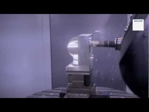 5-axis simultaneous machining of the HELLER Cup