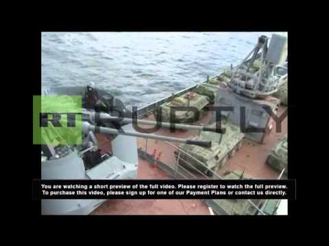 Russia: Black Sea battleships mobilise