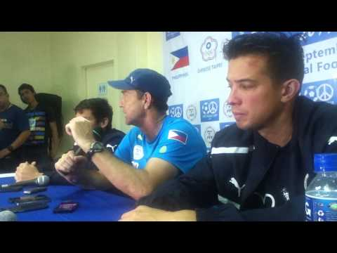 3rd PFF Peace Cup Post-Match Press Conference the Philippines vs Myanmar (September 6)