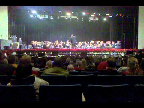 Manchester High School Band Holiday 2010 Concert - Hanukkah Medley