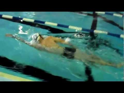 Sprint Triathlon Training-  How To Swim Faster (total Immersion Swim Lesson) video