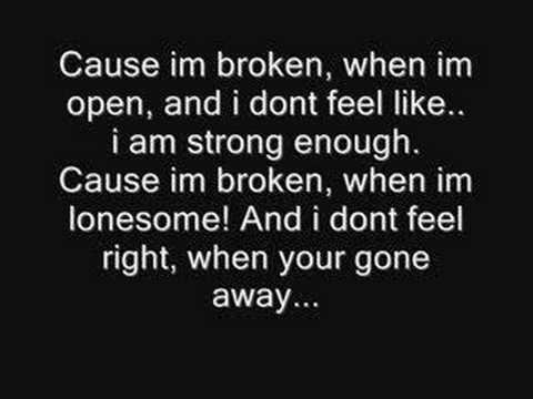 Broken-Seether & Amy Lee from Evanescence(Lyrics) HQ FULL