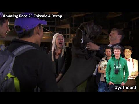 Amazing Race 25 Episode 4 Recap #yatncast #amazingrace