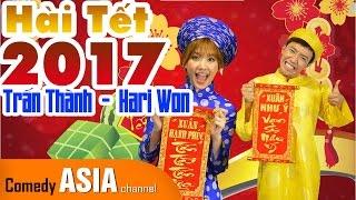 Hài Tết 2017 Trấn Thành Hari Won XEM QUẺ ĐẦU NĂM cũ mà hay!