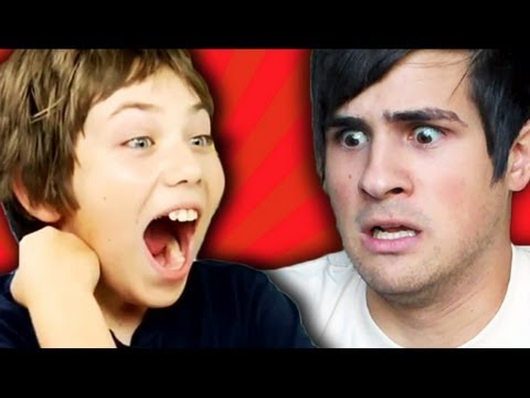 Smosh Reacts to Kids React to Smosh! Music Videos