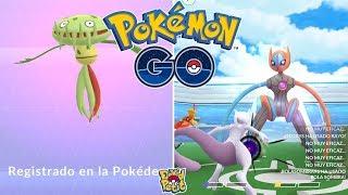DOBLE REGISTRO! CARNIVINE MÁS DEOXYS FORMA VELOCIDAD! [Pokémon GO-davidpetit]