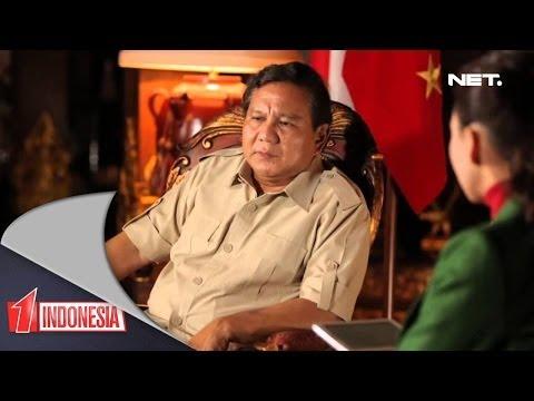 Satu Indonesia - Prabowo