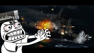 19 cits Des Moines || World of Warships
