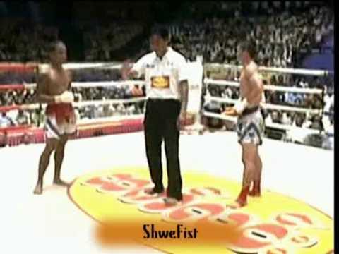 Myanmar lethwei(Tway McShawn) vs Muay Thai(Par Wee), 3/3