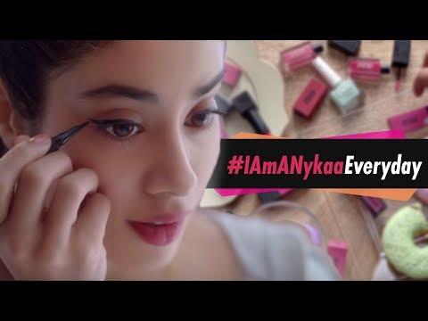 Nykaa TVC Ft. Janhvi Kapoor | #IAmANykaaEveryday