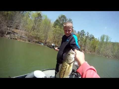 Swimbait Fishing; so easy a 8yr old can do it