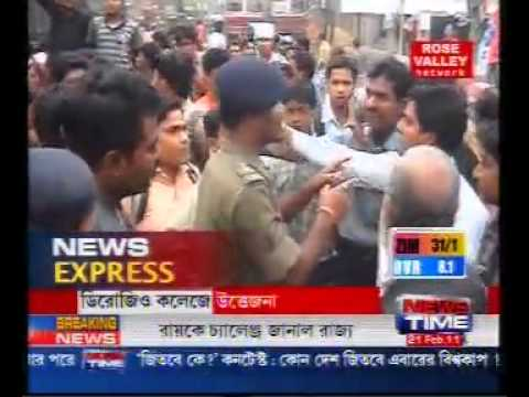 Kolkata Student Union Elections- SFI attacks Islamic org(SIO)cadre