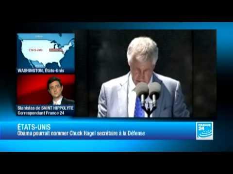 Obama s'apprête à nommer le républicain Chuck Hagel à la tête du Pentagone