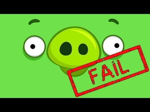 Bad Piggies Fail - Crash Compilation