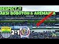 Respect ! Aksi Bobotoh Aremania Bikin Takjub |Persib vs Arema 2-1..