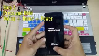 Bacba - Hard Reset Samsung Galaxy A5 2017