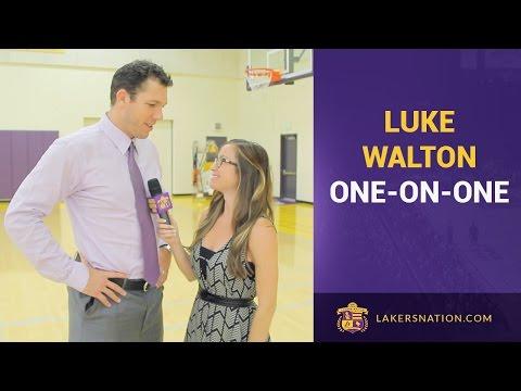 Lakers Nation Interviews Luke Walton: Free Agency, D'Angelo Russell