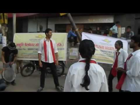 Street Play(Nukkad Natak)-on World No Tobacco Day-Aahuti Welfare Society
