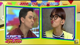 Eat Bulaga February 23 2017 WATCH: Alden is back at Broadway | Maine gave him their trademark kiss