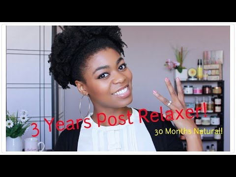 3 Yrs Post Relaxer/ 30 Months Natural Update! - Length.Issues.Regimen Changes.etc. - 4C Natural Hair