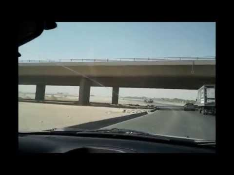 Travel with Riyadh Road side  views.wmv